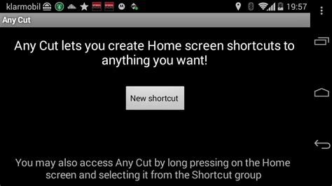 Software Cutting Anycut shortcuts f 252 r alles f 252 r den android homescreen erstellen