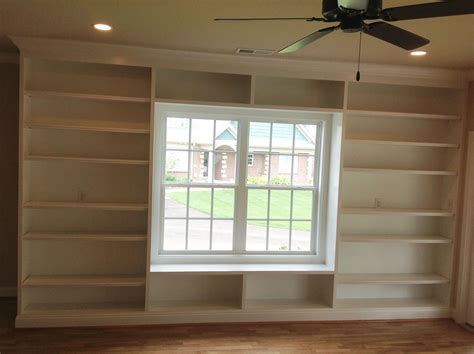 Built In Shelves Around A Window I Would Love To Have Window Bookshelves