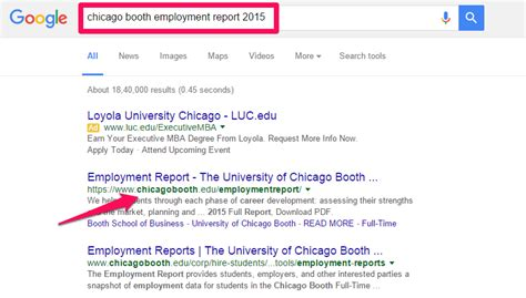 Booth Mba Employment Report by International Mba Applicants Must Look At This Recruitment