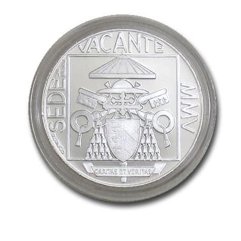 sede vacante 2005 vatikan 5 silber m 252 nze sede vacante sedisvakanz