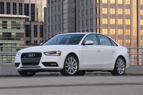 Audi A4 2013 exterior design comparison 2013 audi a4 vs 2014 infiniti