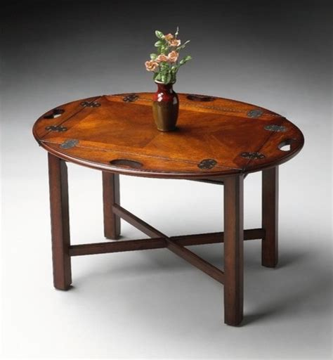 plantation cherry butler s coffee table modern coffee