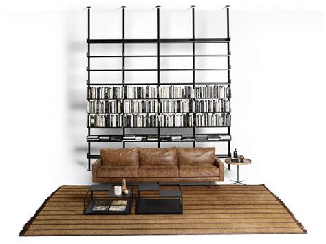 librerie poco profonde libreria a parete o autoportante in alluminio estruso 606