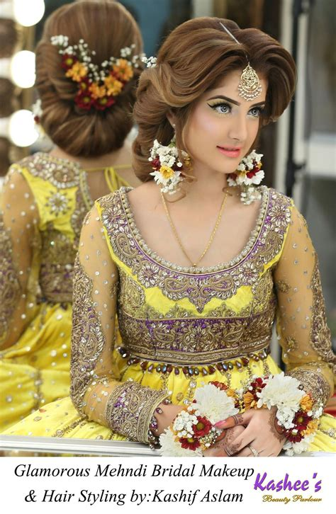 kashees beauty parlour bride hairstyles beautiful
