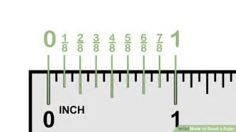 how to read a ruler 10 steps with pictures wikihow