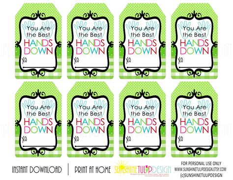 best tags for you are the best printable gift tags buffalo