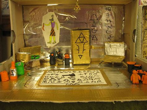 ancient egypt diorama project ms svoboda s blog sixth grade ancient egyptian tombs