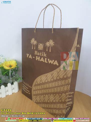 Tas Kertas Souvenir Paper Bag Ulang Tahun tas kertas paper bag souvenir pernikahan