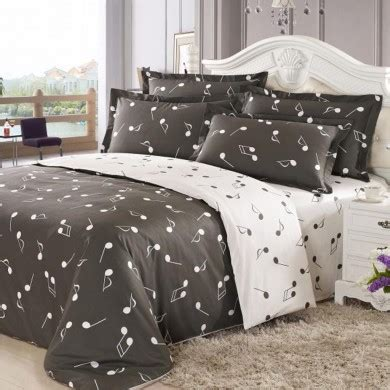 music bedding set