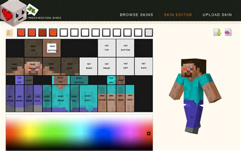 Skin Ide how to make your own minecraft player skin