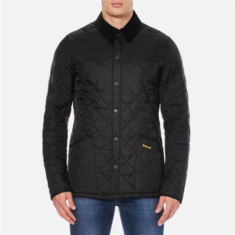 barbour heritage s liddesdale quilt jacket black