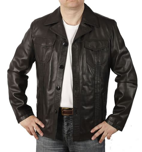 Button Jacket mens leather blazers and button jackets simons leather