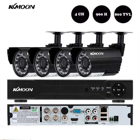 aliexpress buy kkmoon 4ch 960h d1 dvr 800tvl