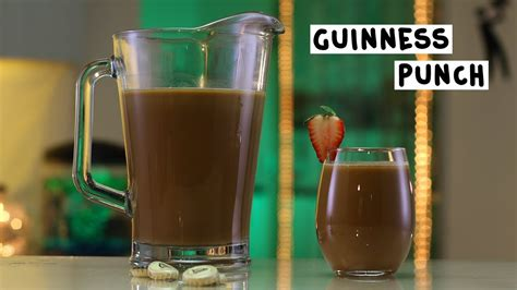 How Does A Sweetened Condensed Guinness Sound by Guinness Punch Tipsy Bartender