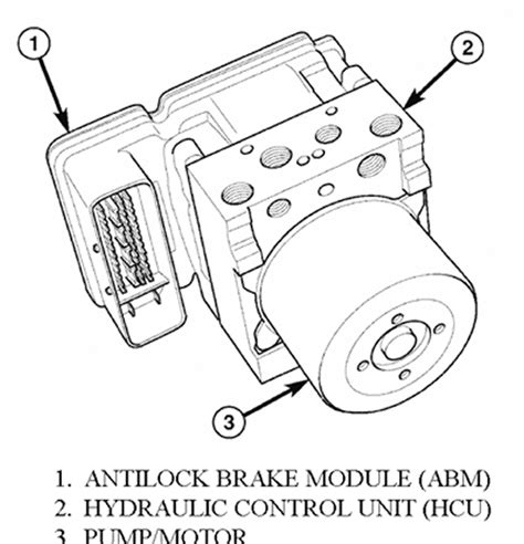repair anti lock braking 2007 ford f150 transmission control repair guides anti lock brake system hydraulic