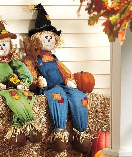 Scarecrow Garden Decor Harvest Garden Scarecrow Form Fall Outdoor Yard Decor