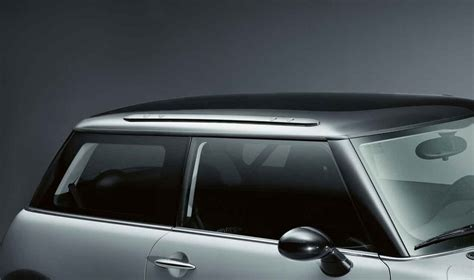 Mini R53 Roof Rack by Mini Genuine Roof Rack Railing Aluminium Black For R50 R53
