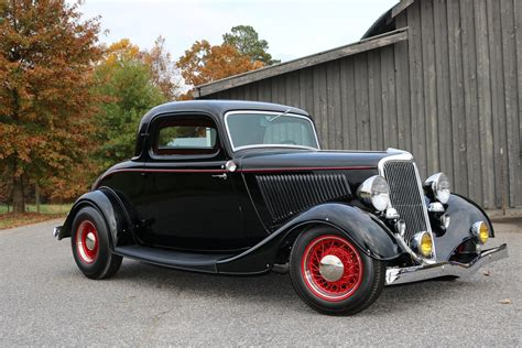 34 Ford Coupe by 1934 Ford 3 Window Coupe Gaa Classic Cars