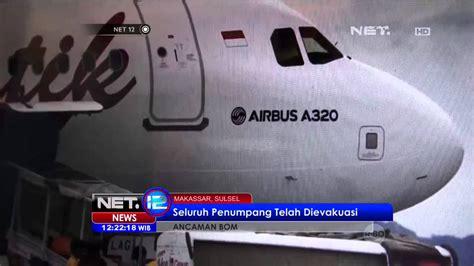 batik air youtube pesawat batik air rute ambon jakarta mendapat ancaman bom