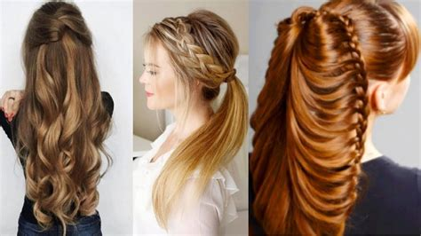 different easy hairstyles to do at home 41840 vizualize cute winter hairstyles easy wedding hairstyles