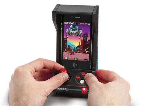 80 iphone tricks you can do right now ios 11 books thinkgeek slashes 80 icade jr mini arcade for iphone