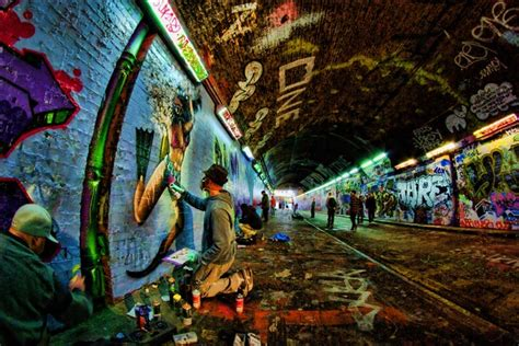 london graffiti and street 0091958687 leake street graffiti tunnel guardianwitness