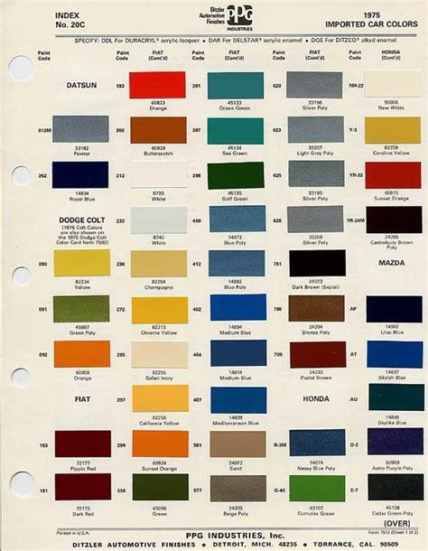 autos couleurs de peintures and couleurs on