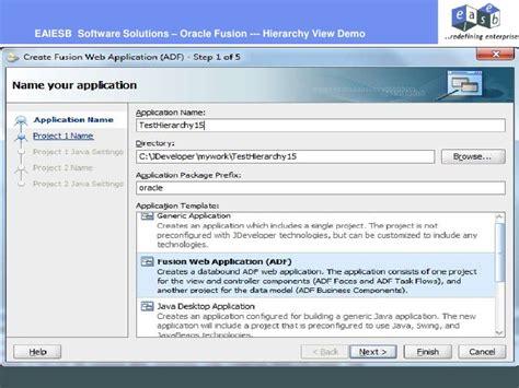oracle net tutorial oracle fusion hierarchy view tutorial