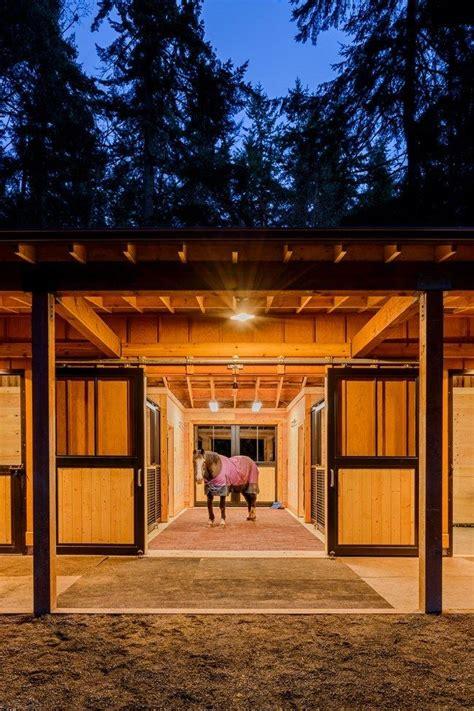 stall barn designed   horse  mind stable