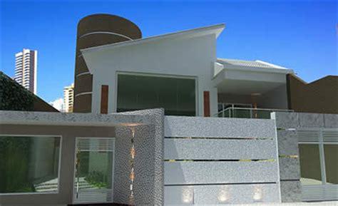 muros e fachadas de casas simples e modernas fotos