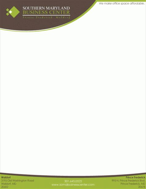 Letterhead Templates Graphics And Templates Letter Stationery Templates