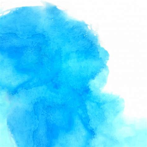 blue water color abstract blue watercolor background vector free