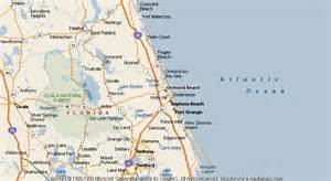 ormond florida map map of ormond