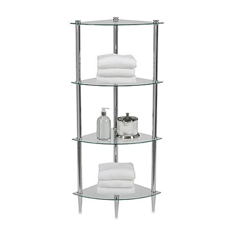 Corner Shelving Bathroom Buy Corner Shelf Bathroom From Bed Bath Beyond