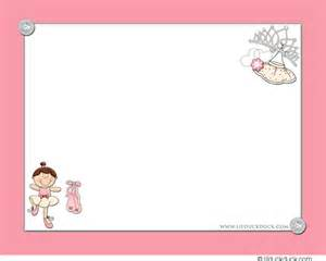 Princess Ballerina Party Invitation & Birthday Thank Yous