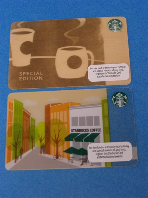 Special Gift Cards - starbucks gift cards special edition storefront 2013