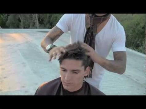 daniel alfonso hair product sunset rooftop haircut style product used hanz de