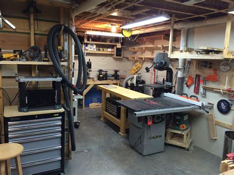 John S Basement Workshop The Wood Whisperer Basement Workshop