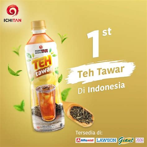 Teh Ichitan Indo ichitan teh tawar offers sugar free option to tea mini me insights