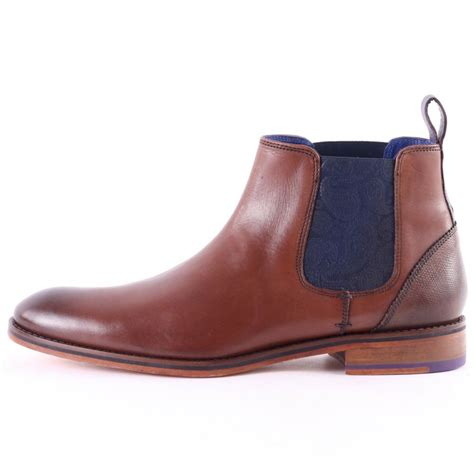 ted baker boots mens ted baker camroon 2 mens chelsea boots in brown