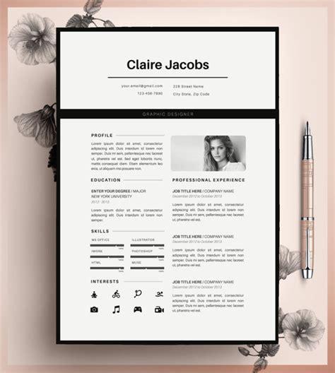 Lebenslauf Vorlage Pages kreative lebenslauf vorlage cv vorlage instant