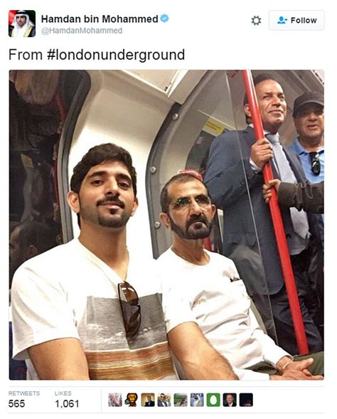 emirates guy viral sheikh of dubai rides train in casual clothes pictures go