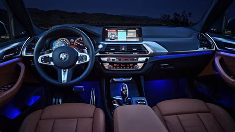 2018 bmw x3 interior 2018 bmw x3 interior design ambient lighting