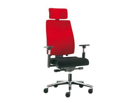 sesta sedie sedia ufficio operativa con poggiatesta sax 24 sedia
