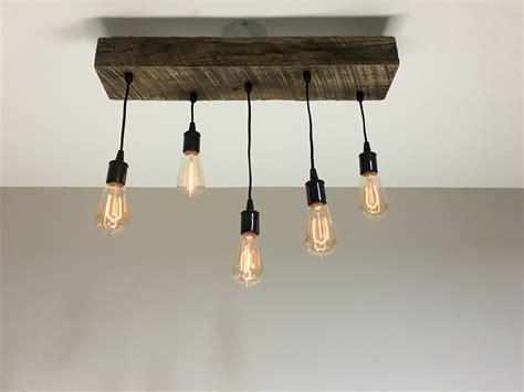 Wood Light Fixtures Timber Beam Light Fixture Modern Midwest