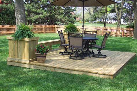 Increase the value of your outdoor space by ground level