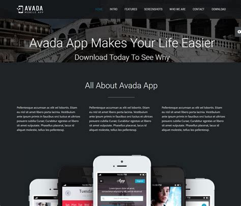 avada theme landing page avada wordpress theme 5 0 review with 22 demo homepage layouts