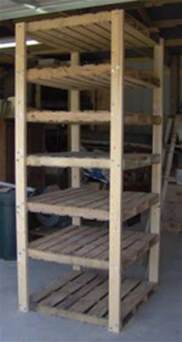 how to build simple pallet shelving craft ideas diy