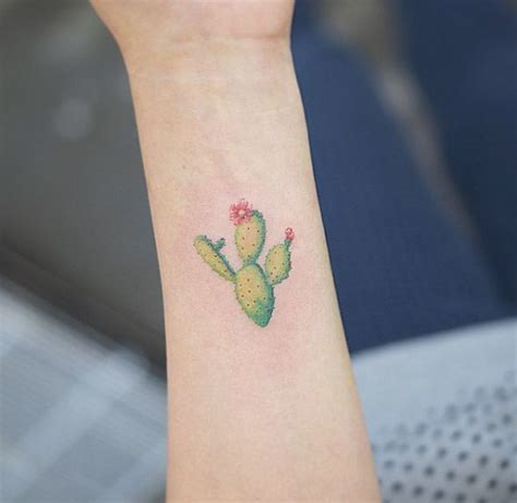 nopal tattoo the 36 coolest cactus tattoos to exist cactus