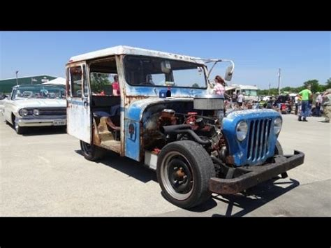 postal jeep rod rat rod jeep mail truck 2016 spring edition redneck rumble